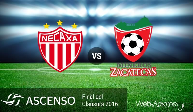 Necaxa vs Mineros, Final del Ascenso MX Clausura 2016 - necaxa-vs-mineros-final-ascenso-mx-clausura-2016