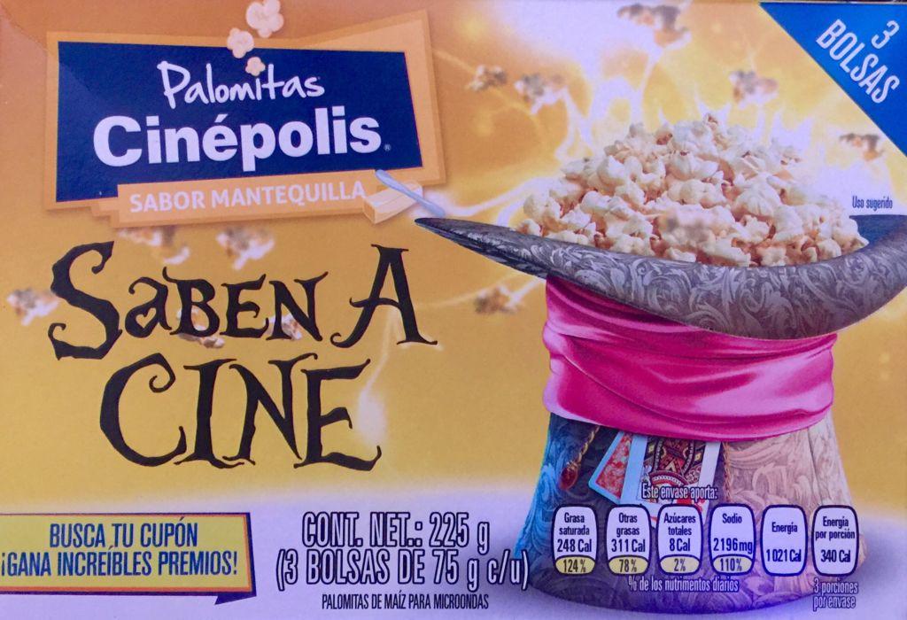 Cinépolis lanza las Palomitas Cinépolis para Microondas - palomitas-cinepolis-mantequilla