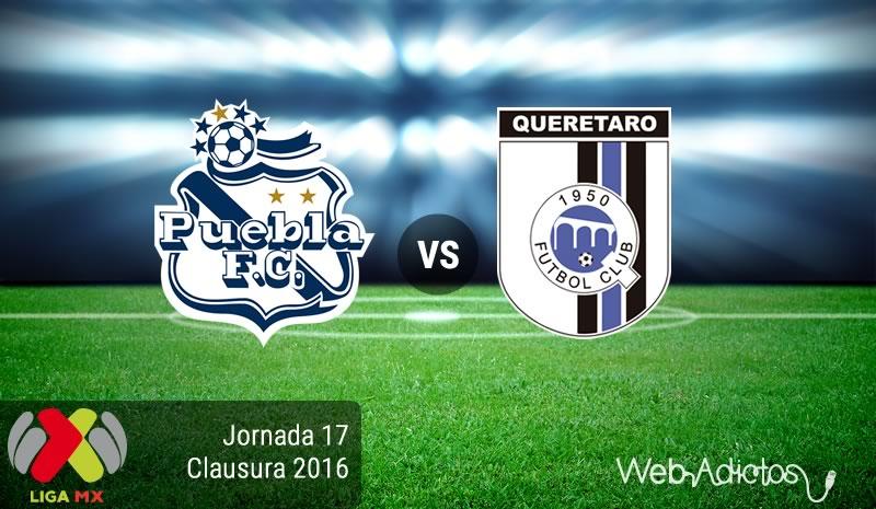 Puebla vs Querétaro, Jornada 17 del Clausura 2016   Resultado: 3-1 - puebla-vs-queretaro-jornada-17-del-clausura-2016
