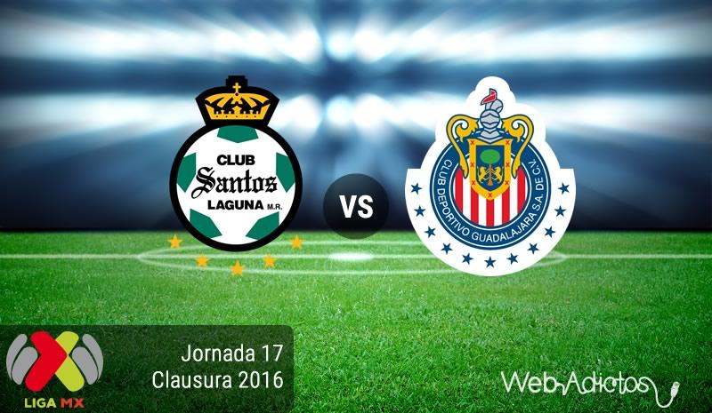 Santos vs Chivas, J17 del Clausura 2016 | Resultado: 0-1 - santos-vs-chivas-jornada-17-del-clausura-2016