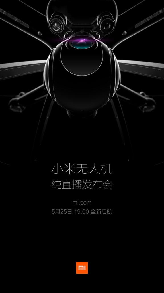 Xiaomi revelará su primer dron el 25 de mayo - xiaomi-dron-1