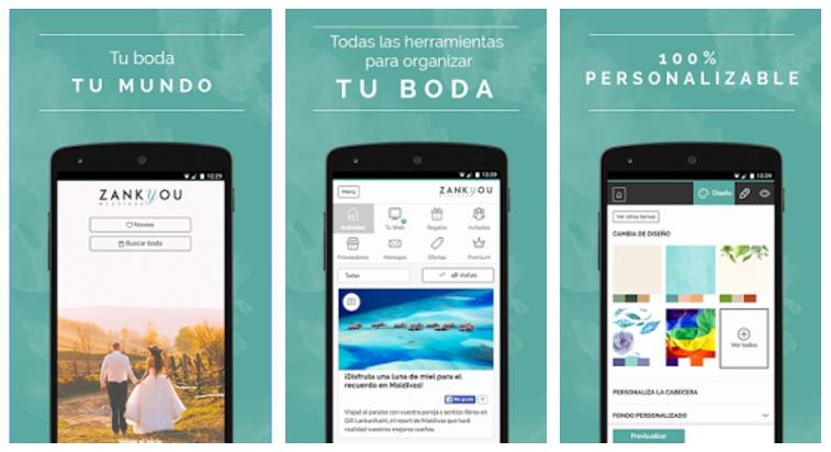 App ZankYou, aplicación para la organización integral de bodas - zankyou-app-bodas