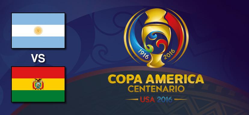 Argentina vs Bolivia, Copa América Centenario | Resultado: 3-0 - argentina-vs-bolivia-copa-america-centenario-2016