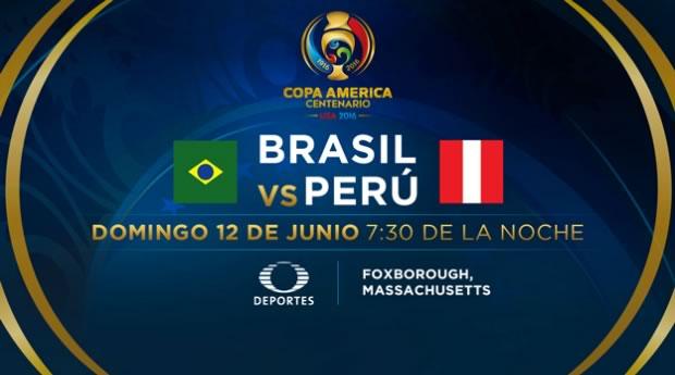 Brasil vs Perú, Copa América Centenario   Resultado: 0-1 - brasil-vs-peru-televisa-deportes-copa-america-2016