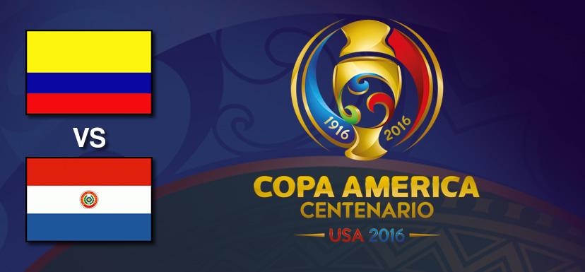 Colombia vs Paraguay, Copa América 2016   Resultado: 2-1 - colombia-vs-paraguay-copa-america-centenario-2016