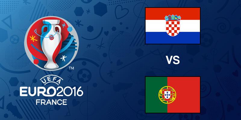 Croacia vs Portugal, Octavos de la EURO 2016   Resultado: 0-1 - croacia-vs-portugal-eurocopa-2016
