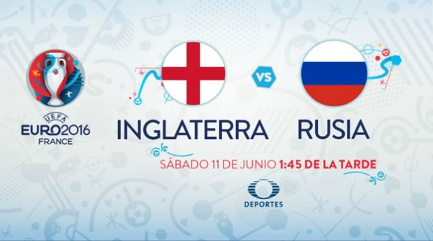 Inglaterra vs Rusia, Eurocopa 2016 | Resultado: 1-1 - inglaterra-vs-rusia-eurocopa-2016-televisa-deportes