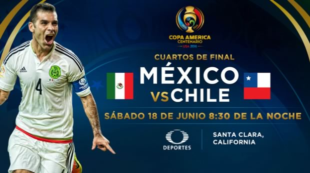 México vs Chile, Copa América Centenario | Resultado: 0-7 - mexico-vs-chile-en-vivo-copa-america-2016