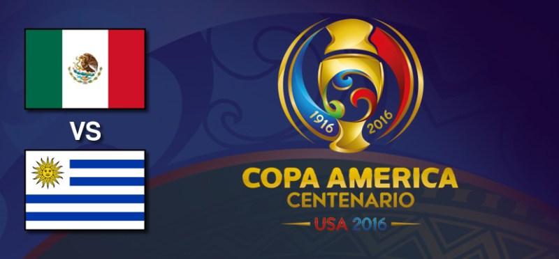México vs Uruguay, Copa América 2016 | Resultado: 3-1 - mexico-vs-uruguay-copa-america-2016