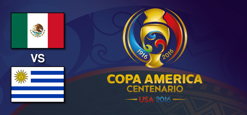 México vs Uruguay, Copa América 2016   Resultado: 3-1 - mexico-vs-uruguay-copa-america-2016