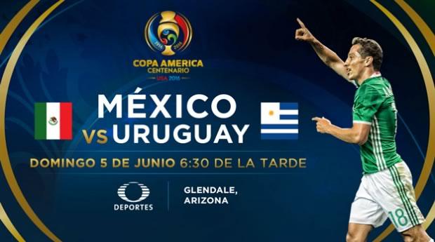 México vs Uruguay, Copa América 2016   Resultado: 3-1 - mexico-vs-uruguay-copa-america-centenario-televisa-deportes