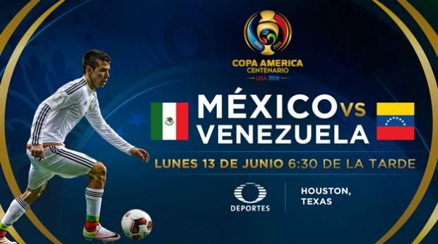 México vs Venezuela, Copa América Centenario   Resultado: 1-1 - mexico-vs-venezuela-copa-america-2016-td