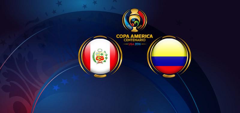 Perú vs Colombia, Copa América Centenario | Resultado: 0-0 - peru-vs-colombia-copa-america-2016-en-vivo