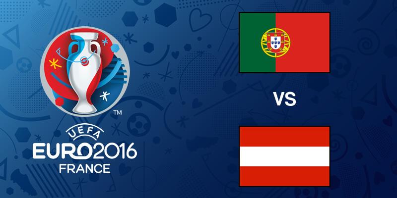 Portugal vs Austria en la Eurocopa 2016 - portugal-vs-austria-eurocopa-2016