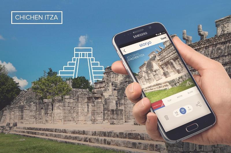 La app Storyo lanza una nueva función con el tema de Chichén Itzá - storyo-chichen-itza