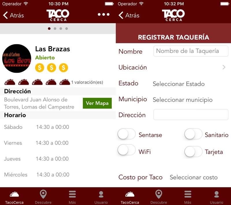 ¿Antojo de tacos? Encuentra los tacos más cercanos a ti con TacoCerca - taquerias-cercanas-tacocerpca-app