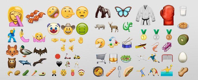 Conoce la próxima generación de emojis - unicode-9-emojis-emojipedia-800x326