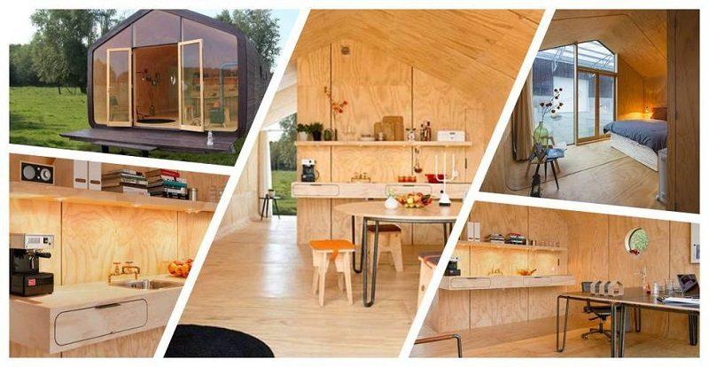 Wikkelhouse, la casa de cartón que puede durar hasta 50 años - wikkelhouse-800x414