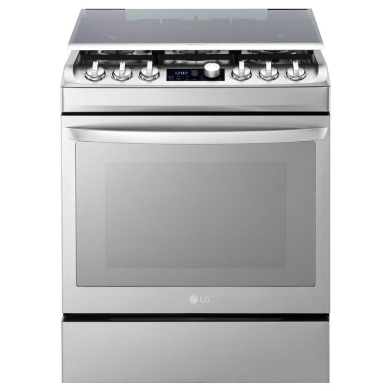 Nuevos electrodomésticos Ultra Premium LG Signature para el mercado Latinoamericano - 1-new-gas-oven_front