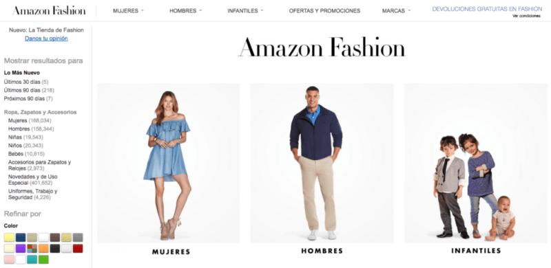 Amazon Mexico lanza Amazon Fashion, moda a un solo clic - amazon-fashion-800x390
