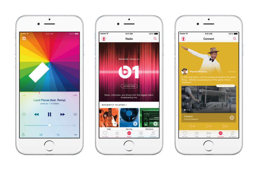 Apple presenta plan para pago de regalías de música en streaming - apple-music-app