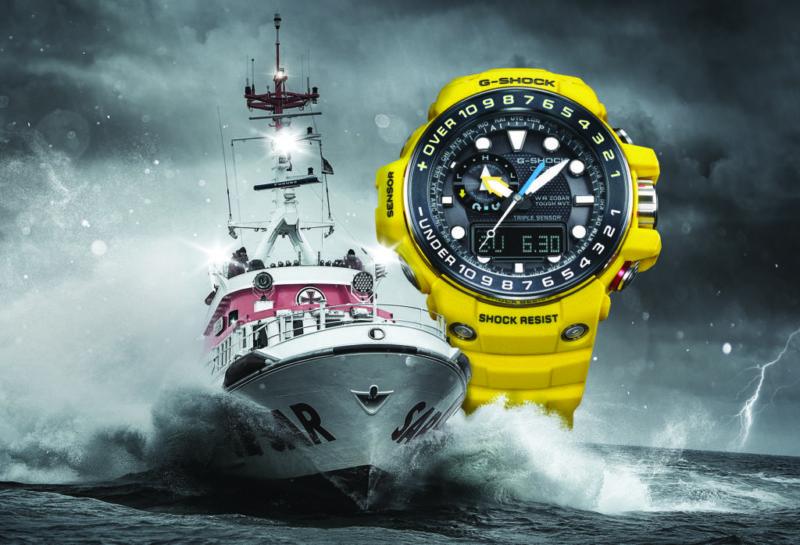 bg sea main artwork 800x545 Nuevo Gulfmaster de G Shock, un reloj para hombres que desafían los mares profundos