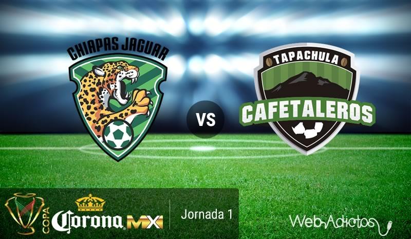 Jaguares vs Cafetaleros, Copa MX Apertura 2016 | Resultado: 1-1 - jaguares-vs-cafetaleros-copa-mx-apertura-2016
