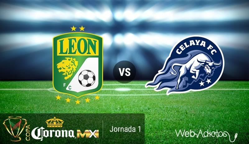 León vs Celaya, Jornada 1 de la Copa MX AP2016 | Resultado: 1-1 - leon-vs-celaya-copa-mx-apertura-2016