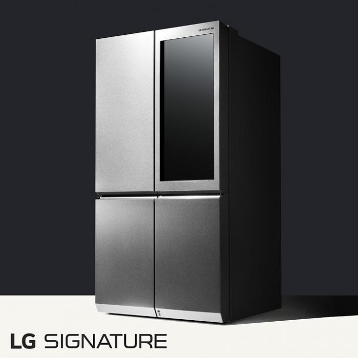Nuevos electrodomésticos Ultra Premium LG Signature para el mercado Latinoamericano - lg-signature-refrigerador