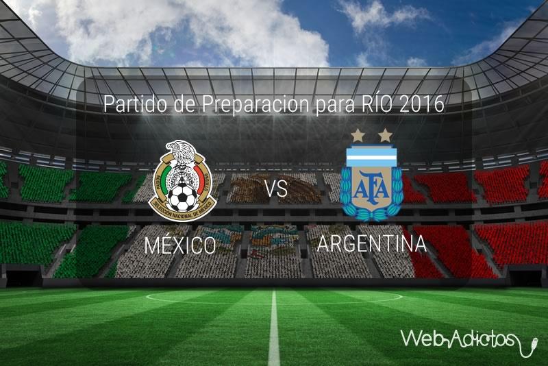 México vs Argentina Sub 23, Partido amistoso 2016 | Resultado: 0-0 - mexico-vs-argentina-sub-23-amistoso-2016