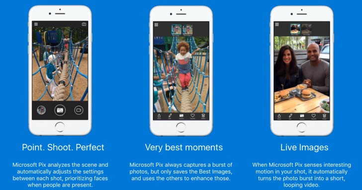 microsoft pix Microsoft presenta Pix: su cámara para iOS