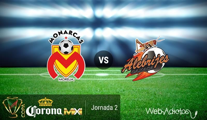 Morelia vs Alebrijes, J2 de la Copa MX Apertura 2016   Resultado: 3-0 - monarcas-morelia-vs-alebrijes-copa-mx-apertura-2016
