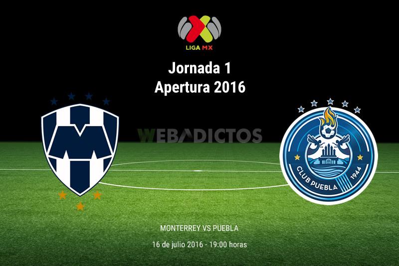 Monterrey vs Puebla, Jornada 1 Apertura 2016 | Resultado: 1-1 - monterrey-vs-puebla-apertura-2016
