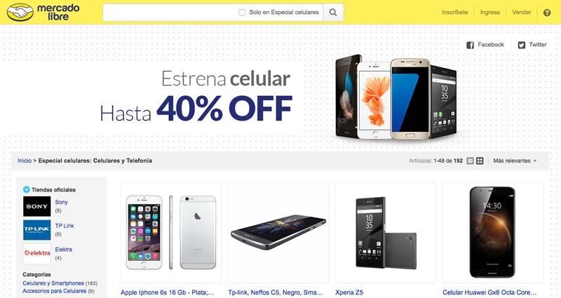 Celulares con hasta 40% de descuento en MercadoLibre ¡Hasta el 17 de julio! - ofertas-en-celulares-mercadolibre