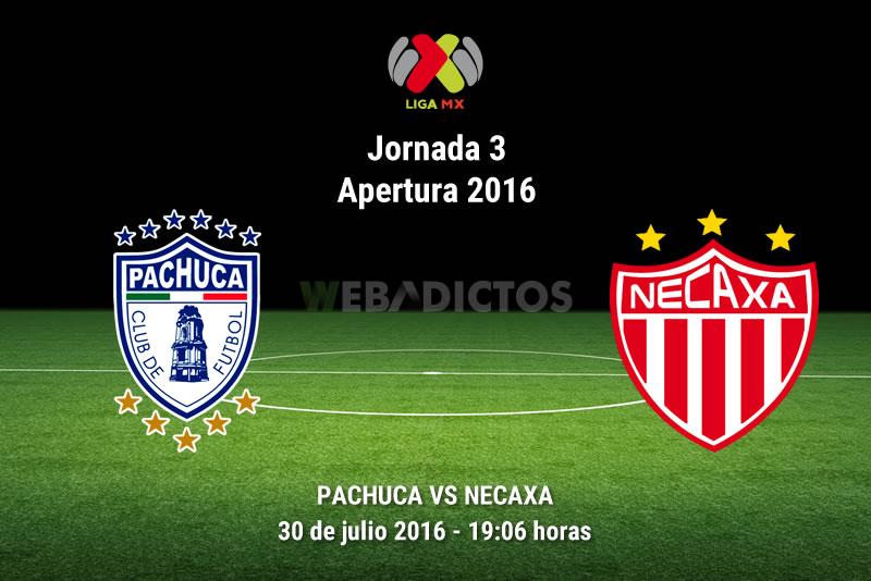 Pachuca vs Necaxa, Jornada 3 del Apertura 2016   Resultado: 1-0 - pachuca-vs-necaxa-apertura-2016