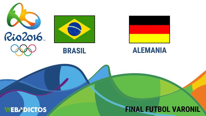 Brasil vs Alemania, Final en Río 2016 | Resultado 1 (5)-(4) 1 - brasil-vs-alemania-final-futbol-varonil-rio-2016