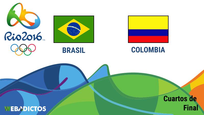 Brasil vs Colombia, Cuartos de final en Río 2016   Futbol varonil - brasil-vs-colombia-cuartos-de-final-rio-2016