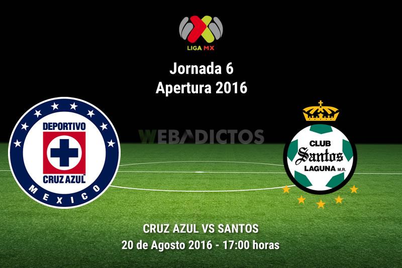 Cruz Azul vs Santos, Jornada 6 Liga MX A2016 | Resultado: 3-1 - cruz-azul-vs-santos-jornada-6-apertura-2016