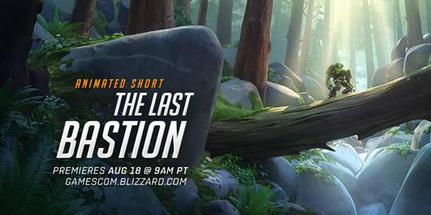 """Corto animado """"El Último Bastión"""" de Overwatch será revelado en Gamescom 2016 - el-ultimo-bastion-1"""