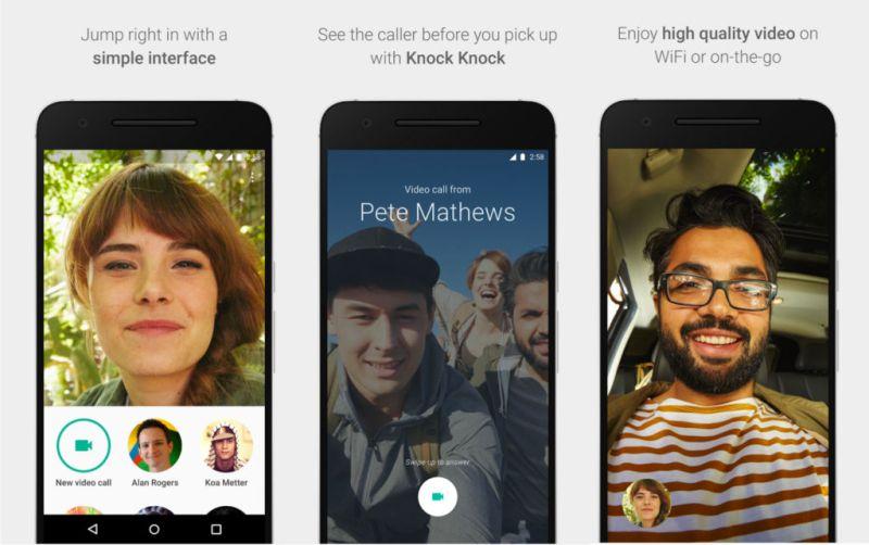 Google Duo logra acumular 5 millones de descargas en Android - google-duo-1
