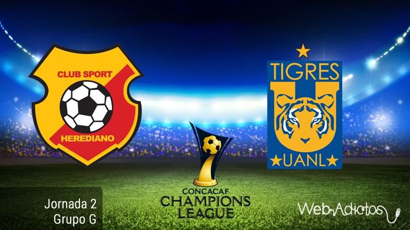 Herediano vs Tigres, Concachampions 2016 - 2017 - herediano-vs-tigres-concachampions-2016