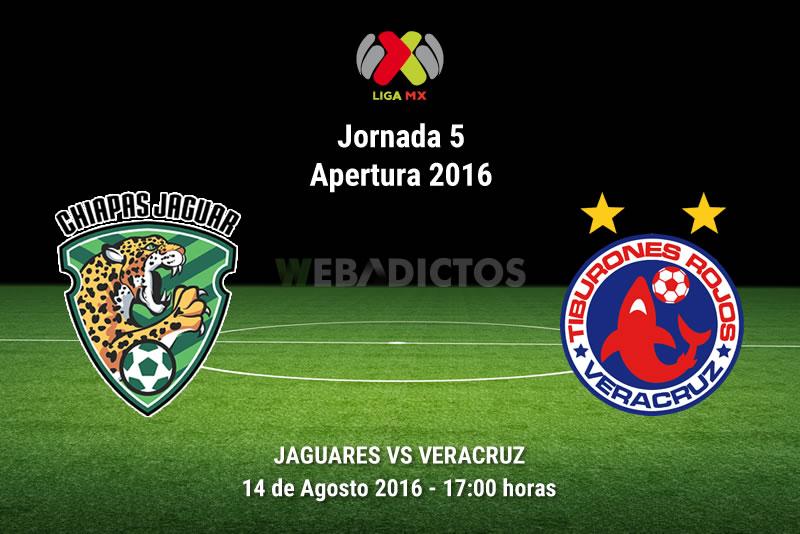 Jaguares vs Veracruz, J5 del Apertura 2016 | Resultado: 1-1 - jaguares-vs-veracruz-apertura-2016
