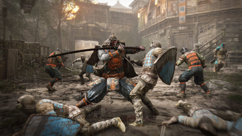 For Honor revela su alineación completa de héroes y modos multijugador - kensei_gc-ubisoft-for-honor-1-800x450