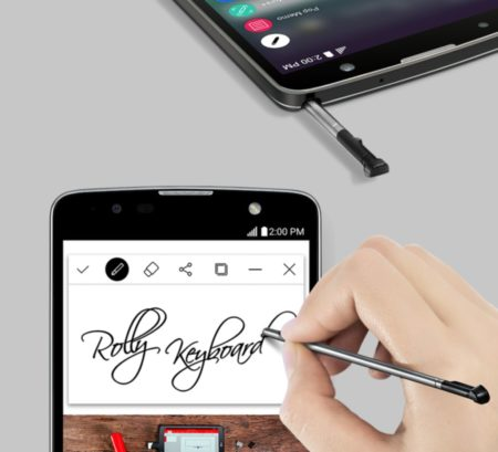 Equipos tecnológicos LG para este regreso a clases - lg-stylus2-plus-2-450x409