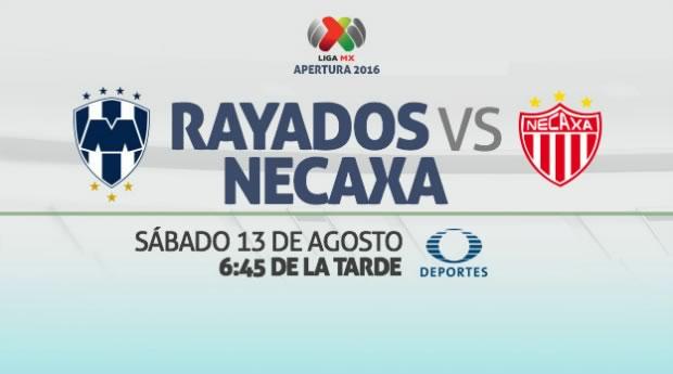 Monterrey vs Necaxa, Jornada 5 de la Liga MX A2016   Resultado: 2-1 - monterrey-vs-necaxa-en-vivo-liga-mx-apertura-2016
