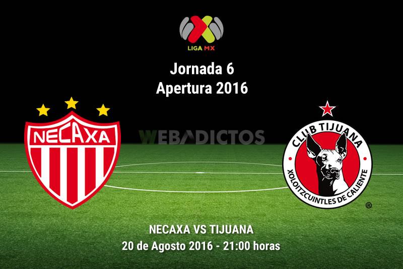 Necaxa vs Tijuana, Jornada 6 del Apertura 2016   Resultado: 1-1 - necaxa-vs-tijuana-jornada-6-apertura-2016