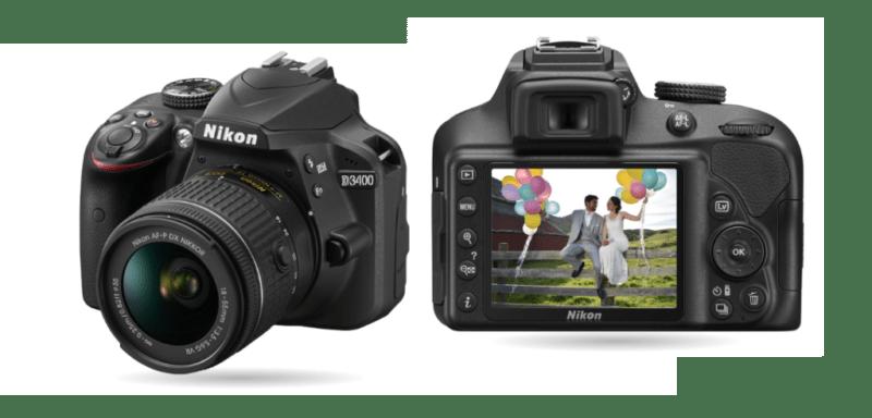 Nueva Nikon D3400, con SnapBridge que crea una conexión entre la cámara y smartphone - nikon-d3400-800x384