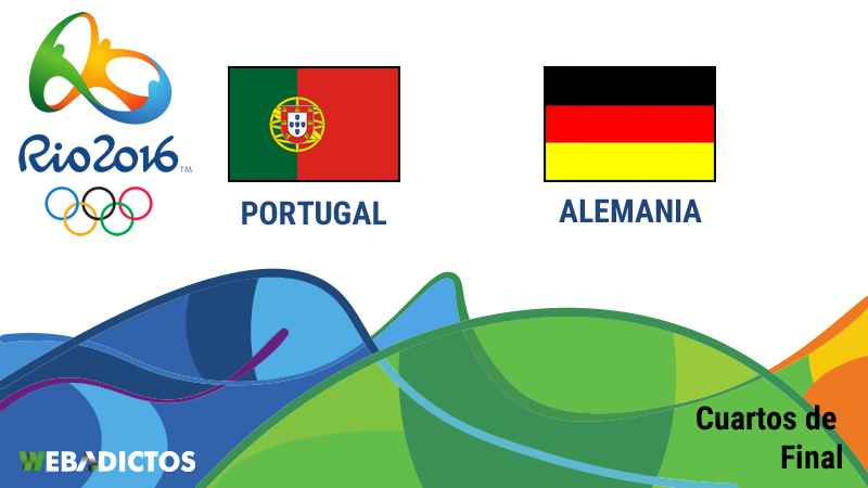 Portugal vs Alemania, cuartos de final en Río 2016   Futbol varonil - portugal-vs-alemania-cuartos-de-final-rio-2016