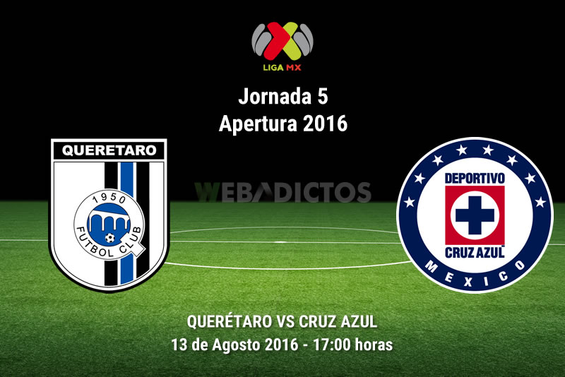 Querétaro vs Cruz Azul, J5 del Apertura 2016   Resultado: 0-0 - queretaro-vs-cruz-azul-apertura-2016
