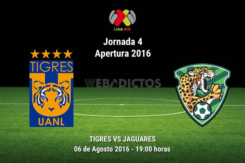Tigres vs Jaguares, J4 del Apertura 2016 | Resultado: 1-0 - tigres-vs-jaguares-de-chiapas-apertura-2016